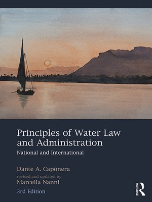 cover image of Principles of Water Law and Administration