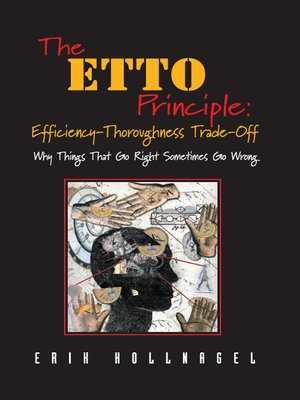 cover image of The ETTO Principle