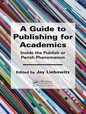 cover image of A Guide to Publishing for Academics