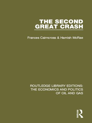 cover image of The Second Great Crash