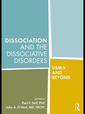 cover image of Dissociation and the Dissociative Disorders