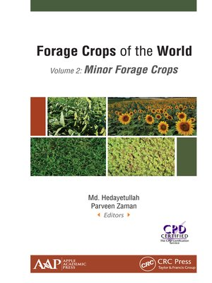cover image of Forage Crops of the World, Volume II