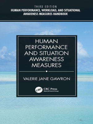 cover image of Human Performance and Situation Awareness Measures