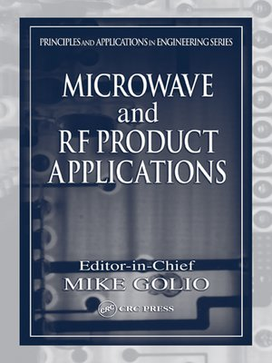 cover image of Microwave and RF Product Applications