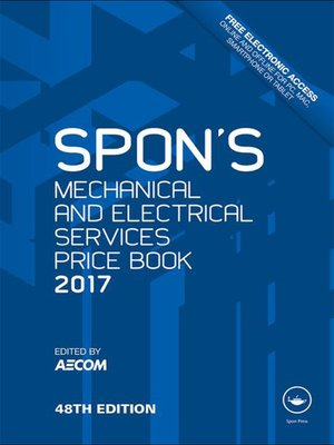 cover image of Spon's Mechanical and Electrical Services Price Book 2017