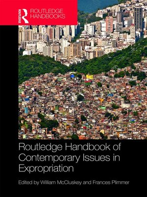 cover image of Routledge Handbook of Contemporary Issues in Expropriation
