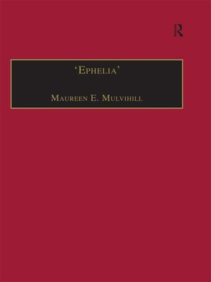 cover image of 'Ephelia'