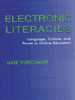 cover image of Electronic Literacies