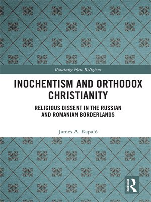 cover image of Inochentism and Orthodox Christianity