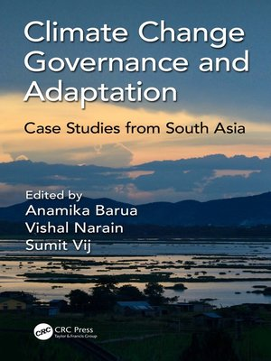 cover image of Climate Change Governance and Adaptation