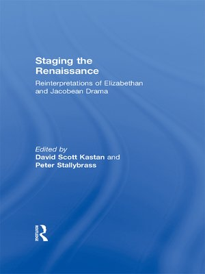 cover image of Staging the Renaissance
