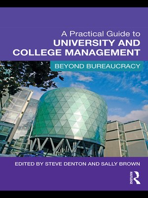cover image of A Practical Guide to University and College Management