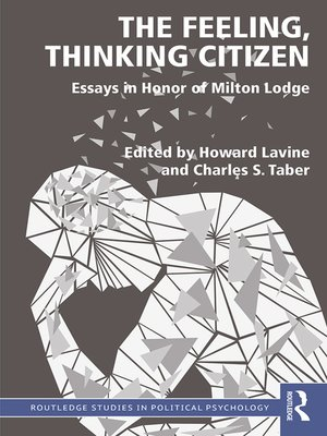 cover image of The Feeling, Thinking Citizen