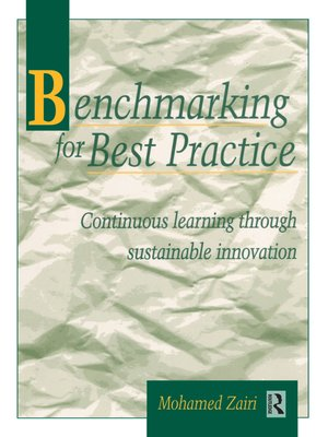 cover image of Benchmarking for Best Practice