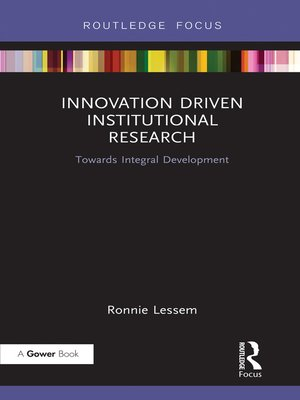 cover image of Innovation Driven Institutional Research