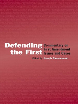 cover image of Defending the First
