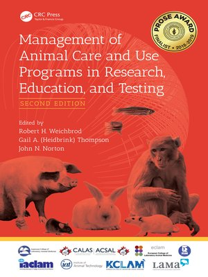 cover image of Management of Animal Care and Use Programs in Research, Education, and Testing