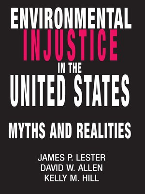 cover image of Environmental Injustice In the U.S.
