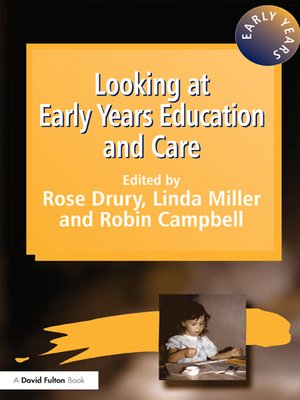 cover image of Looking at Early Years Education and Care