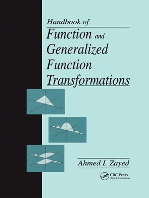 cover image of Handbook of Function and Generalized Function Transformations