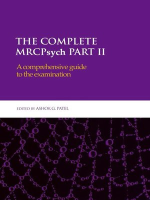cover image of The Complete MRCPsych Part II