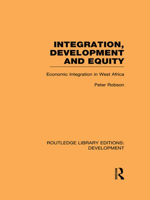 cover image of Integration, development and equity