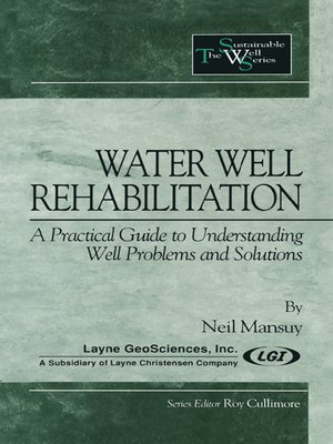 cover image of Water Well Rehabilitation