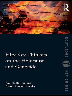 cover image of Fifty Key Thinkers on the Holocaust and Genocide