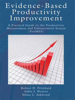 cover image of Evidence-Based Productivity Improvement