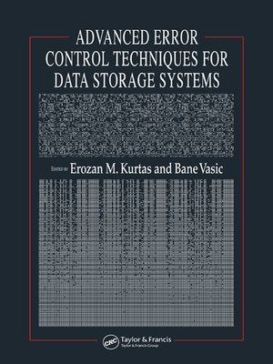 cover image of Advanced Error Control Techniques for Data Storage Systems