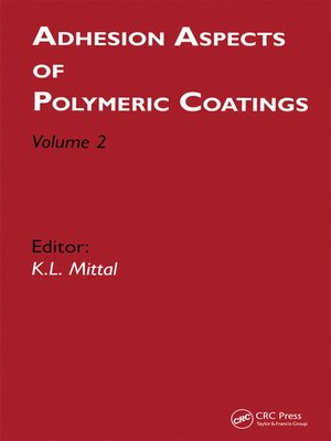 cover image of Adhesion Aspects of Polymeric Coatings