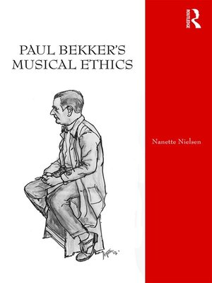 cover image of Paul Bekker's Musical Ethics