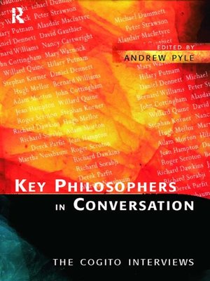 cover image of Key Philosophers in Conversation
