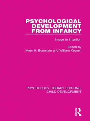 cover image of Psychological Development From Infancy