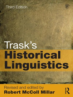 cover image of Trask's Historical Linguistics