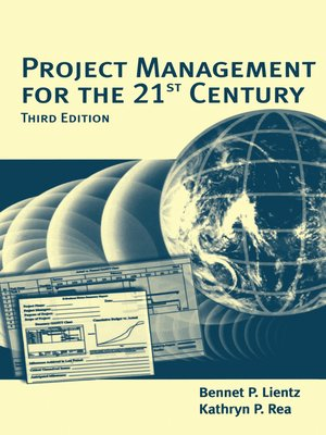 cover image of Project Management for the 21st Century