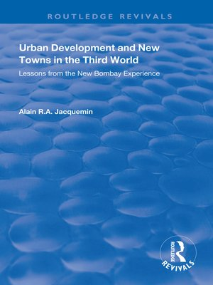 cover image of Urban Development and New Towns in the Third World