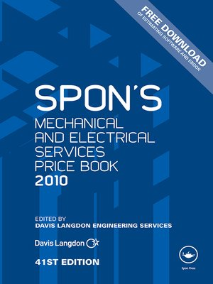 cover image of Spon's Mechanical and Electrical Services Price Book 2010
