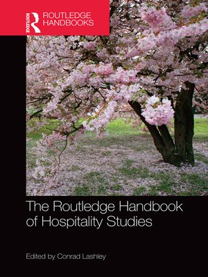 cover image of The Routledge Handbook of Hospitality Studies