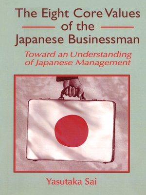 cover image of The Eight Core Values of the Japanese Businessman