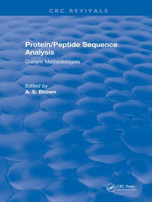 cover image of Protein/Peptide Sequence Analysis