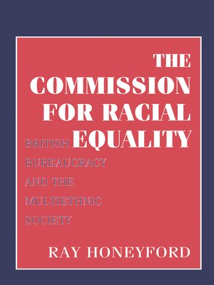 cover image of Commission for Racial Equality