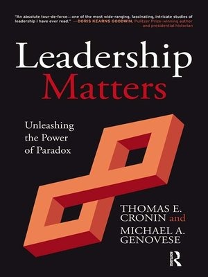cover image of Leadership Matters