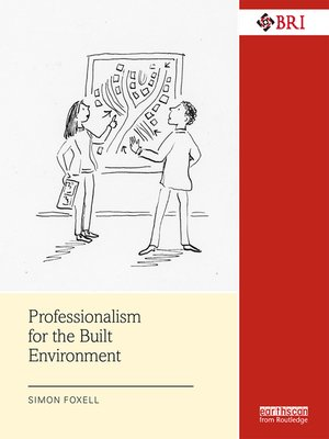 cover image of Professionalism for the Built Environment