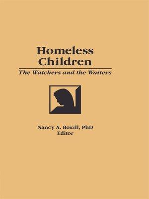 cover image of Homeless Children