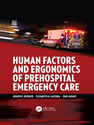 cover image of Human Factors and Ergonomics of Prehospital Emergency Care