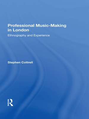 cover image of Professional Music-making in London