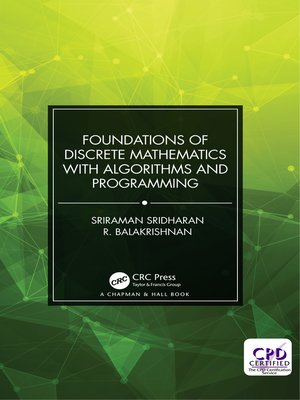 cover image of Foundations of Discrete Mathematics with Algorithms and Programming