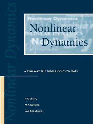 cover image of Nonlinear Dynamics