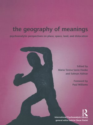 cover image of The Geography of Meanings